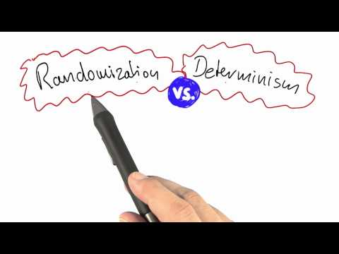 Randomization Vs Determinism - Intro to Theoretical Computer Science