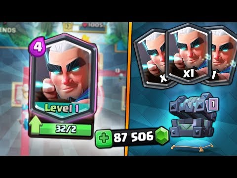 x32 MAGIC ARCHERS!! HUGE LEGENDARY KINGS CHEST OPENING! | Clash Royale | x35 KINGS CHEST OPENING!!