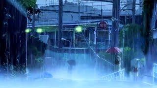 kotonoha no Niwa (Beautiful Anime Rain)【AMV】- Scarlet [HD] 1080p