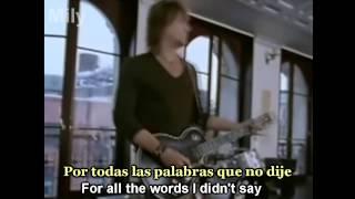 Bon Jovi - All About Lovin' You subtitulado Español Ingles