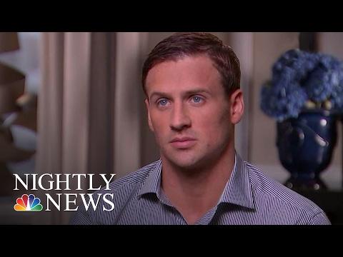 Ryan Lochte Calls His Behavior in Rio