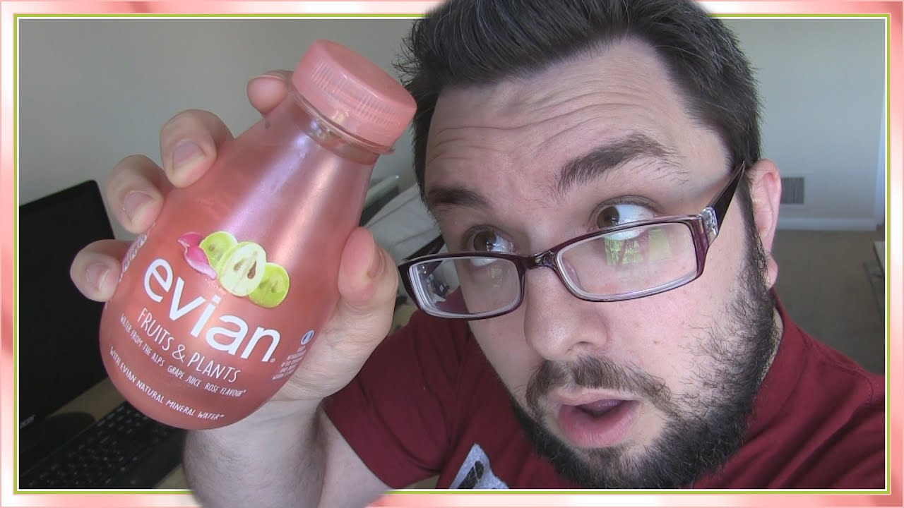 Assez Evian Fruits & Plants Rose & Grape Review - YouTube VK39