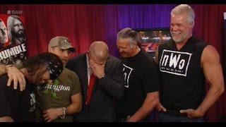 WWE Monday Night Raw, January 19, 2015 NWO, DX, APA