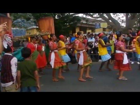 VIVA CARNIVAL DE GOA 2016 PANJIM GOA - 3 VOTE FOR AAM AADMI PARTY