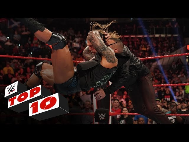 Top 10 Raw moments: WWE Top 10, Jan. 27, 2020