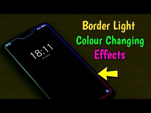 இது தெரிஞ்சா போதும் மாஸ் காட்டலாம்   Mobile Border Light Effect  SURYA TECH