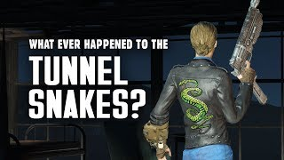 What Ever Happened to the Tunnel Snakes? Creation Club Update: Tunnel Snakes Rule! - Fallout Lore