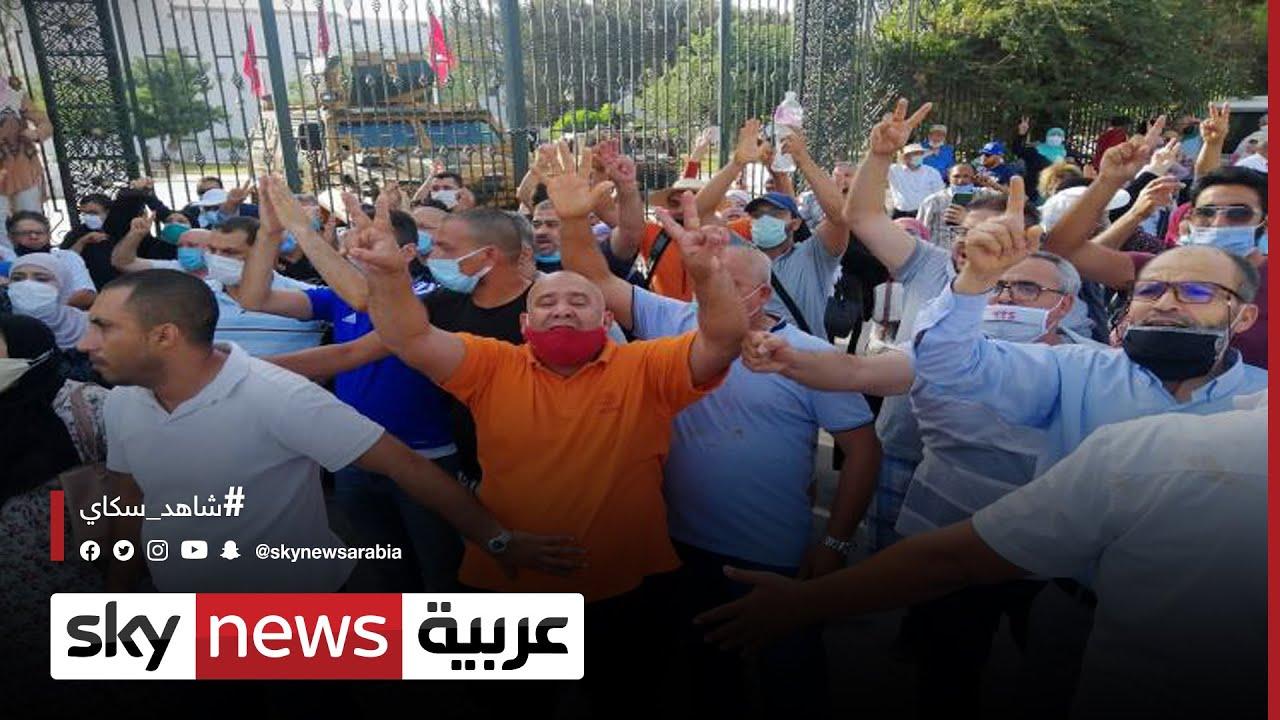أحزاب سياسية تونسية تؤكد دعمها لقيس سعيد  - نشر قبل 3 ساعة