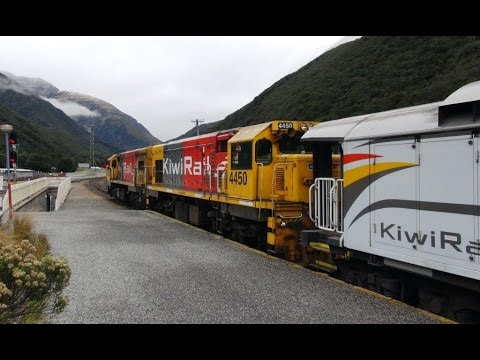 Part 3 – New TranzAlpine 2014 – Pass under the Southern Alps on our way to Greymouth.