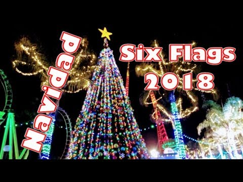 Six Flags México - Christmas in the Park 2018