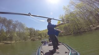 EastTNFishing: Strip Down for the Rod - ETNF Bloopers - GoPro Bass Fishing