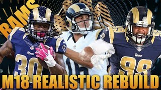 Best Defensive Rookies Ever! Realistic Rebuild of the Los Angeles Rams | Madden 18 Franchise