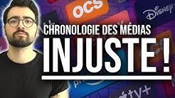 CHRONOLOGIE DES MÉDIAS: UNE LOI INJUSTE POUR LES CINÉPHILES !