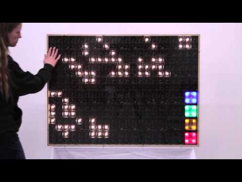 Museum Display: Interactive Conway's Game of Life