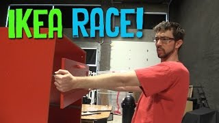 Ikea Assembly Race