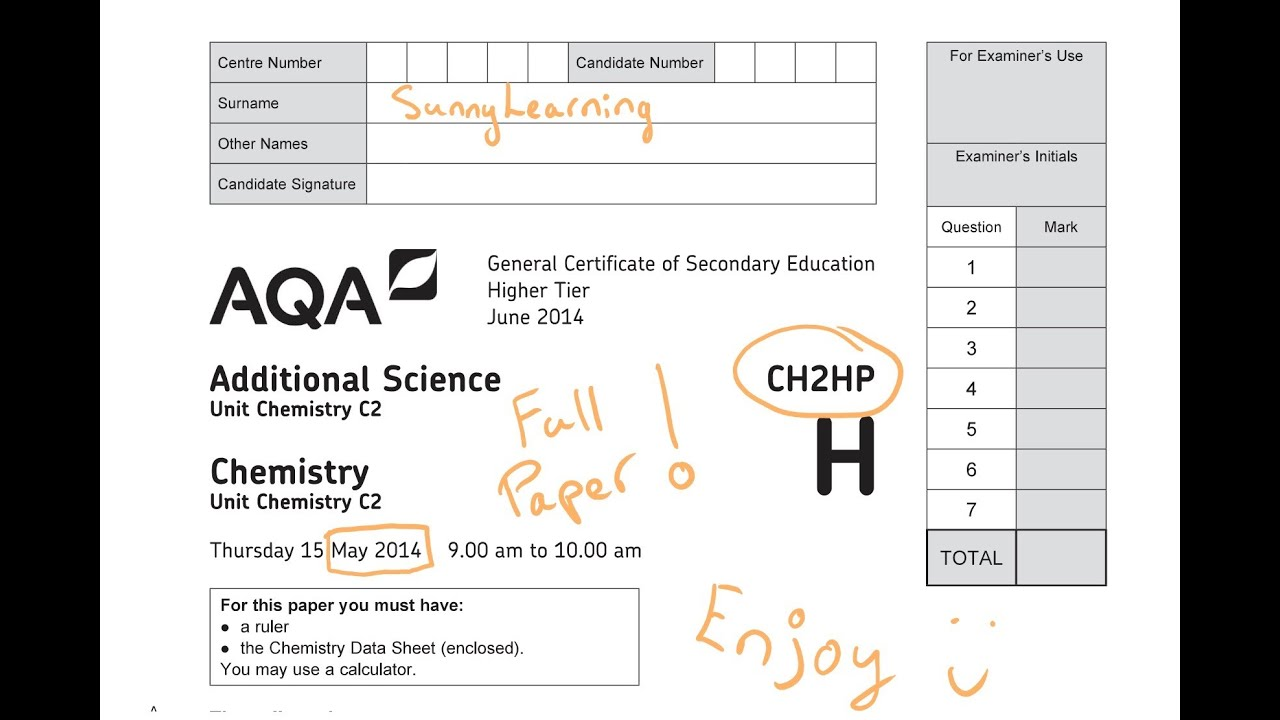 Aqa Physics Equation Sheet Gcse