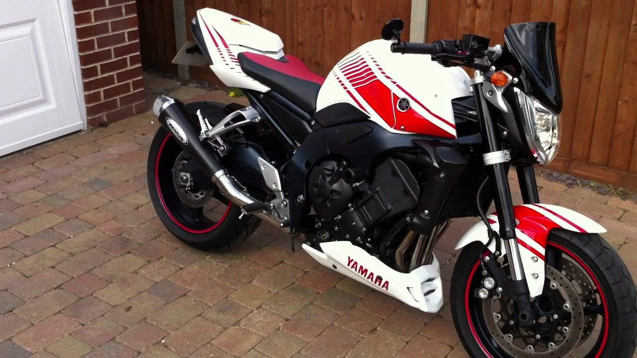Yamaha Fz1 Abarth Decals