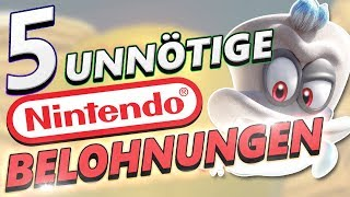 5 unnötige Nintendo Belohnungen! | TheMysterian