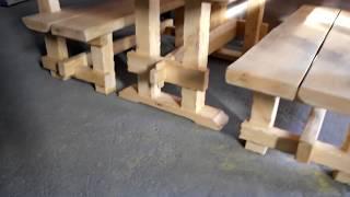 Стол и скамейка садовые. Мебель садовая, барбекю.(, 2017-09-12T14:27:09.000Z)
