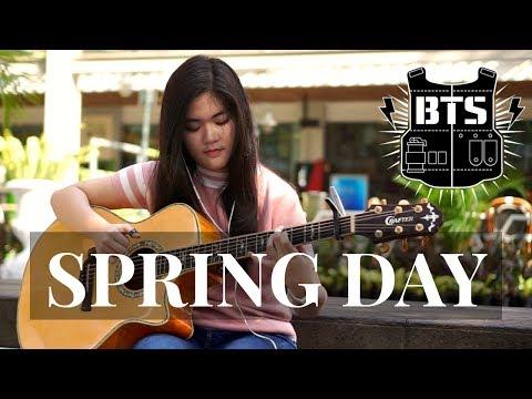 (BTS) Spring Day - Josephine Alexandra | Fingerstyle Guitar Cover