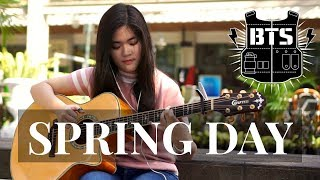 (BTS) Spring Day - Josephine Alexandra | Fingerstyle Guitar Cover