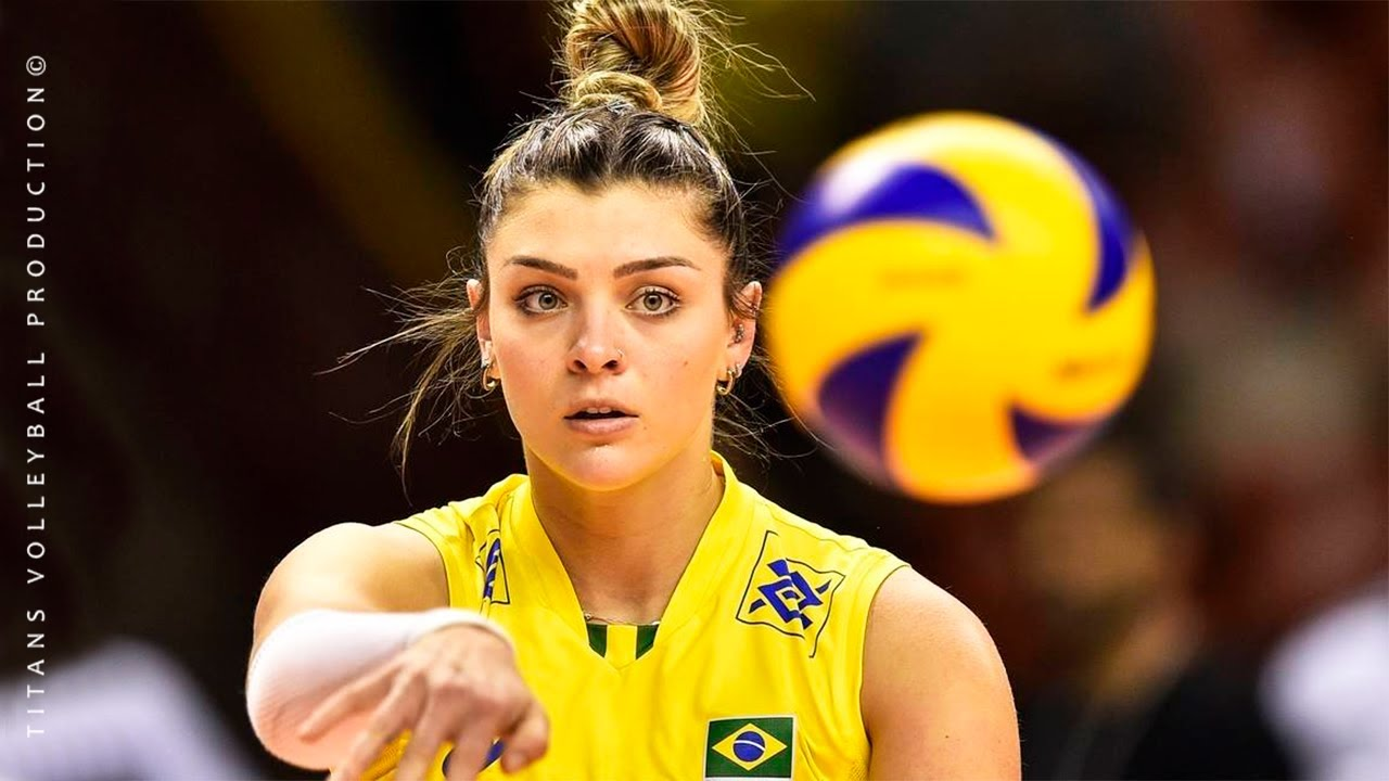 Rosamaria Montibeller - Best Volleyball Spikes/Blocks | World Grand Champions Cup 2017