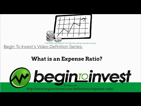 Expense Ratio - What is a Fund's Expense Ratio?