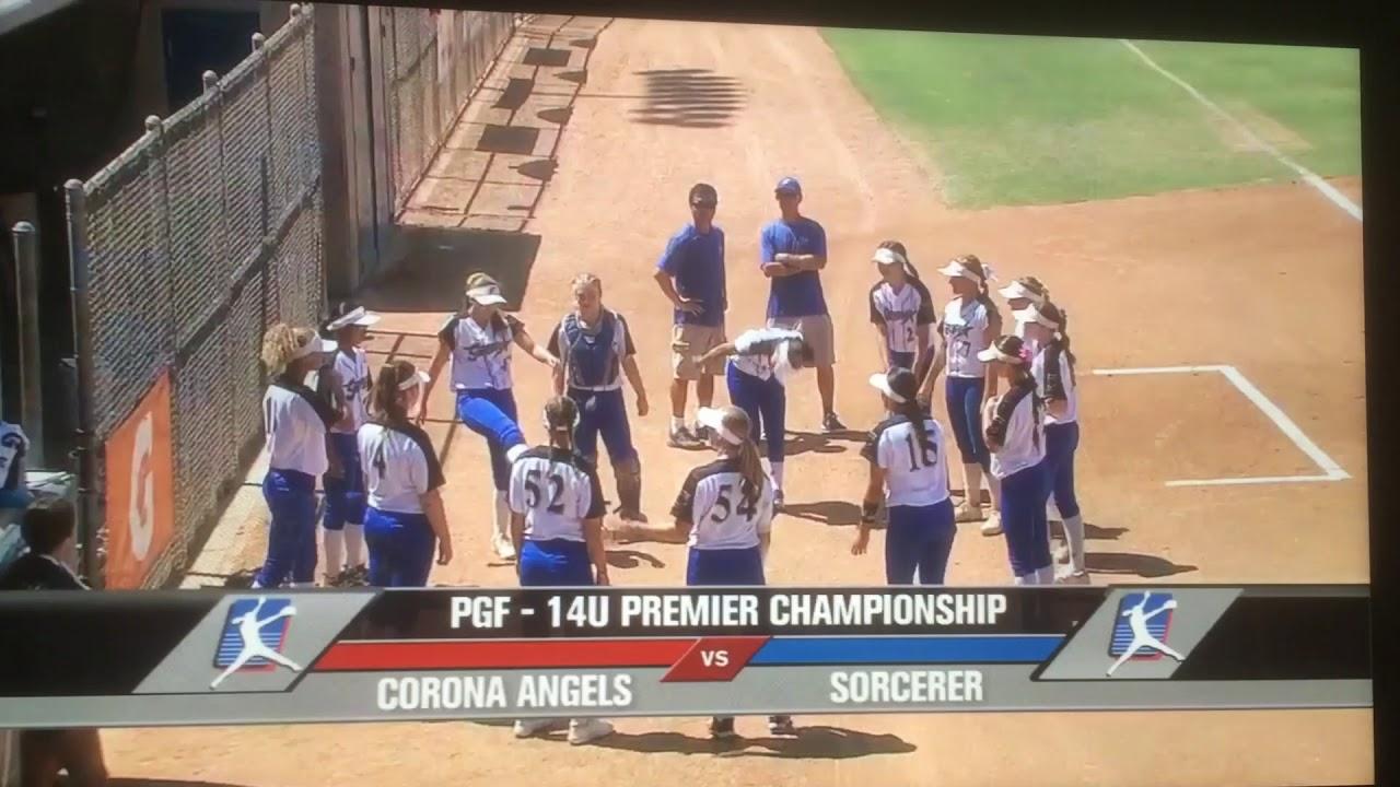 2018 PGF 14U Premier National Championship Sorcerer v Corona Angels