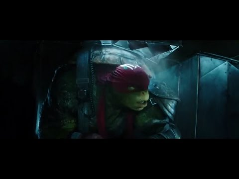 TMNT2 (2016) Sneaking into Police HQ Montage Scene (HD)