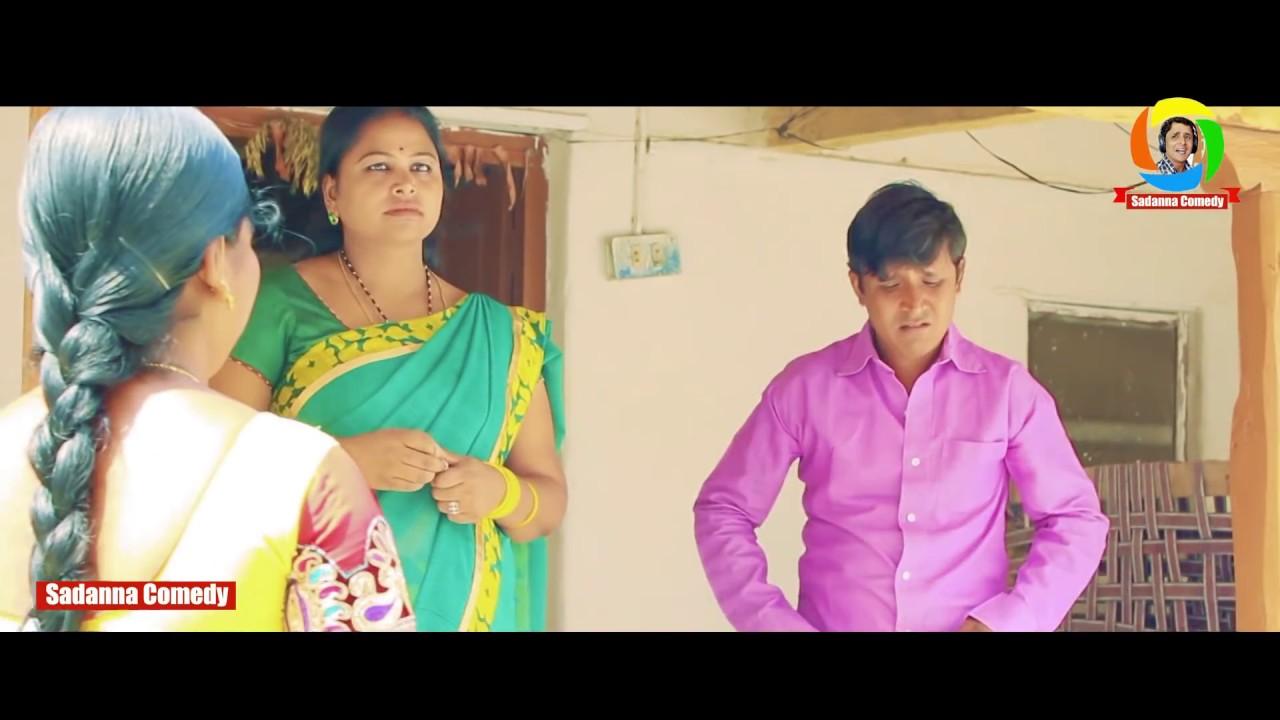 Download CHEERA SAMBARAM Telugu Comedy Short Film by  RS Nanda || Sadanna Comedy || RS NANDA  ||