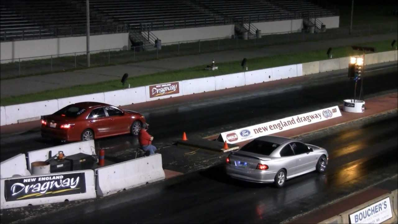 2007 Toyota Camry Drag Race Vs Gto Fast 14 2 98mph Ned