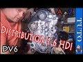 ?Remplacer la  Distribution 1.6 HDI ? les points de calage  ??  Peugeot Citroën  (A à Z)