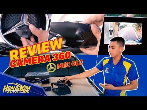 Review đánh giá camera 360 độ cho xe Mercedes GLC250