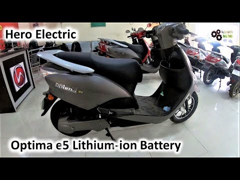 Hero Electric OPTIMA E5 Lithium Ion Battery My First Review