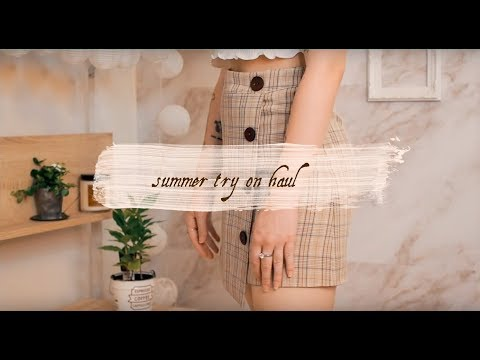Summer Try-on Haul //