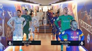 Pes 2019 - o fim da uefa champions league