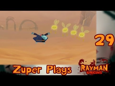 Zuper Plays: Rayman Origins - Part 29: Time Trial Time! 2-4