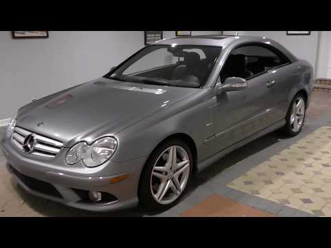 This 2009 CLK350 AMG Sport Grand Edition Coupe is one of the best looking Mercedes-Benz cars ever