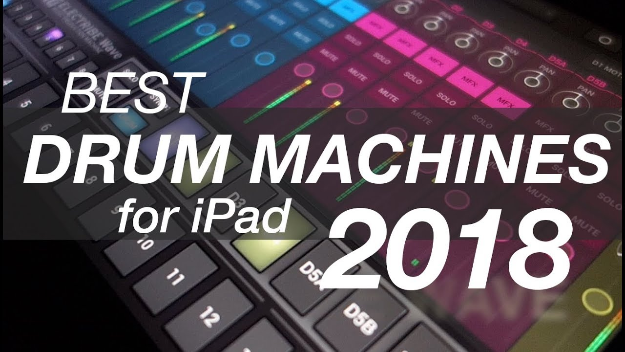 best drum machines for ipad 2018 top 5 youtube. Black Bedroom Furniture Sets. Home Design Ideas