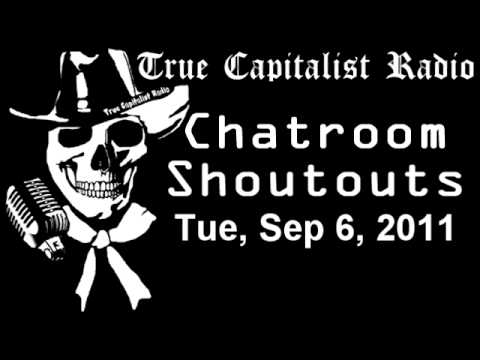 Chatroom Shoutouts - Tue, Sep 6, 2011