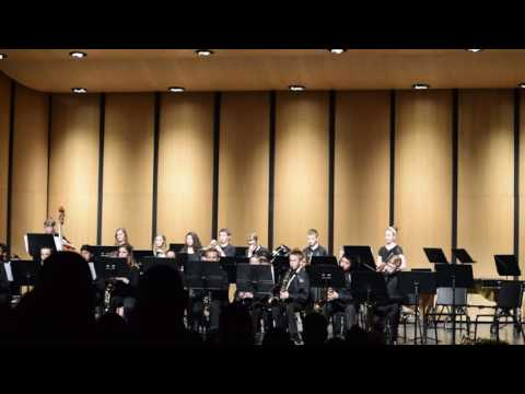 Mahone Middle School jazz band concert 2016