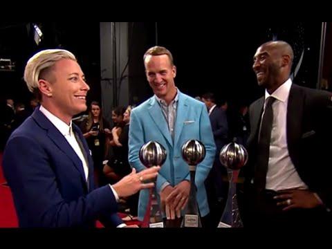 Kobe Bryant, Peyton Manning, Abby Wambach Interview | 2016 ESPYs