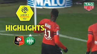 Stade Rennais FC - AS Saint-Etienne (3-0) - Highlights - (SRFC - ASSE) / 2018-19