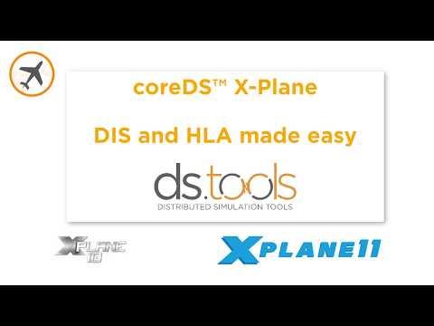 coreDS™ X-Plane - HLA and DIS for X-Plane
