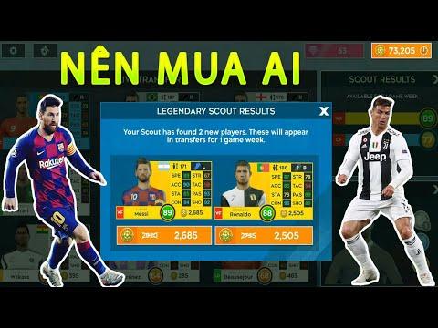 Nên Mua Ronaldo Hay Messi Dream League Soccer 2020