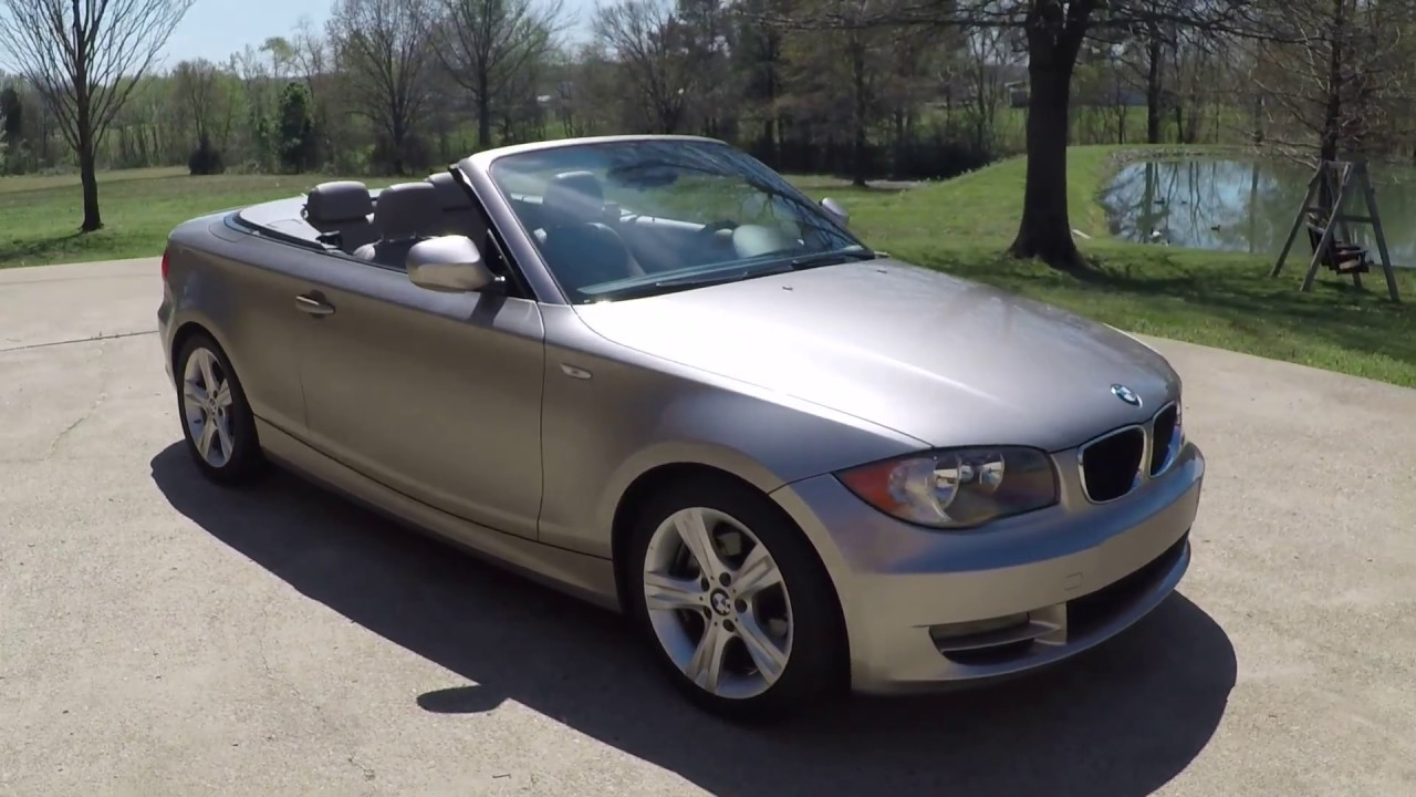 west tn 2011 bmw 128i convertible 6 speed manual for sale info www rh youtube com