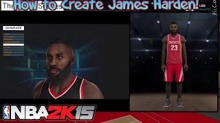 Wie erstelle James Harden NBA 2k15 | Mein-Spieler-Face Sculpting