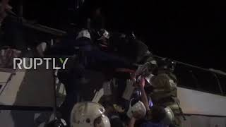 Russia: 3 dead, nearly 40 injured after buses collide in Voronezh region