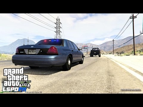 GTA 5 - LSPDFR - EPiSODE 82 - LET'S BE COPS - UNMARKED SHERIFF PATROL (GTA 5 PC POLICE MODS) SANDY