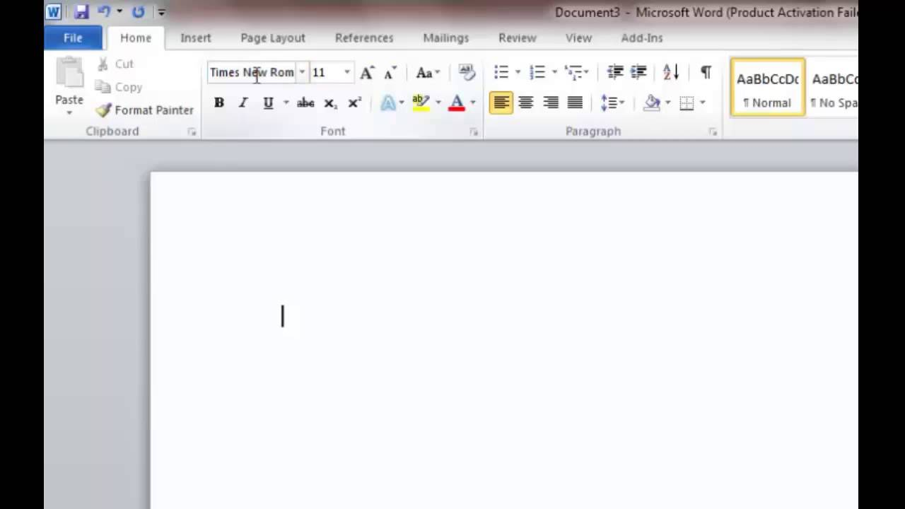 how to format the mla essay in ms word 2010
